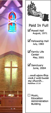 Bookmarks for Churches and Ministries