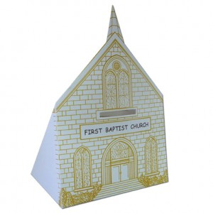 Cardboard Church Bank