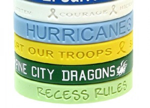 Silicon Awarness Bracelets