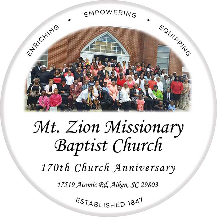 Mt Zion Church Plate